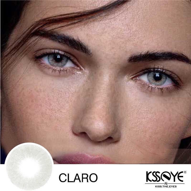KSSEYE 1 para kolorowe soczewki kontaktowe roczny rzut naturalny wygląd soczewki kontaktowe
