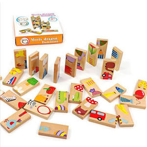 Domino Blocks Toy Ed...
