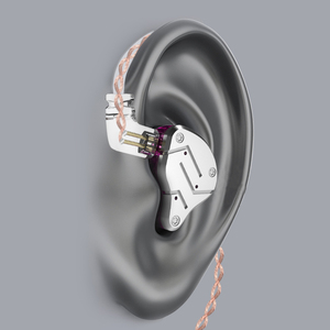 Image 5 - KZ ZSN 1BA + 1DD Hybrid In Ear หูฟัง DJ Monitor หูฟังสปอร์ตหูฟัง HIFI ชุดหูฟังหูฟังที่ถอดออกได้ถอด2Pin สาย KZ BA10