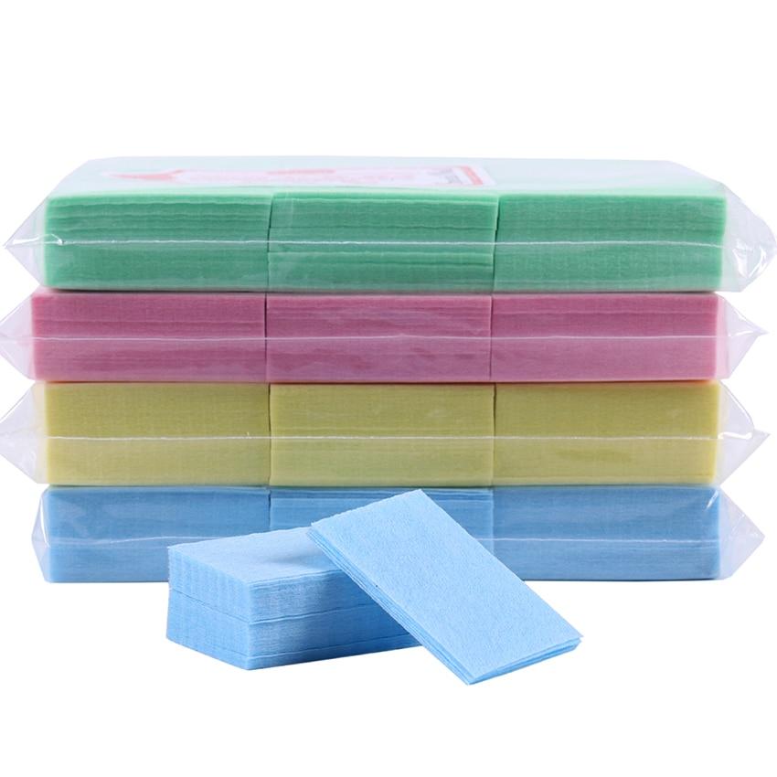 550 PCS/Pack Nail Polish Remover Nail Cotton Manicure Gel Lint-Free Wipes Cotton Napkins For Nail Art Tool