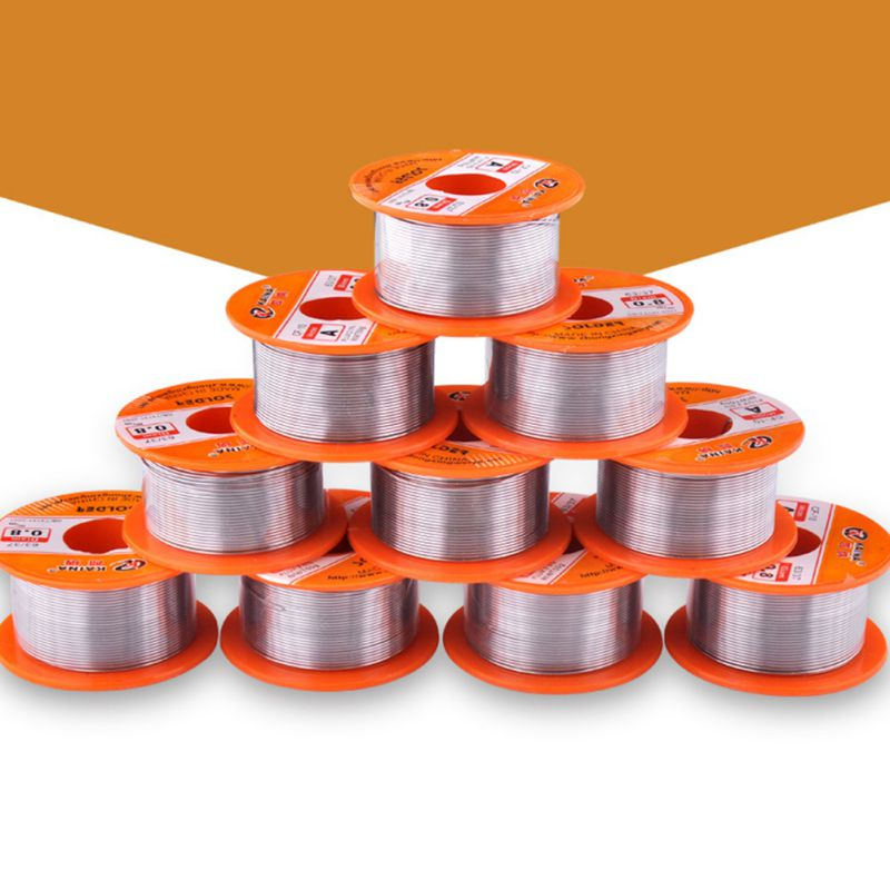 0.5/0.6/0.8/1/1.2/1.5mm Welding Wire 63/37 FLUX 2.0% Tin For Soldering Lead Free Wire Solder Wire 50g Soldering Solder