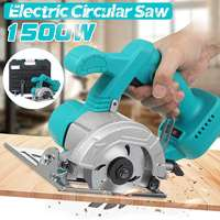 Drillpro 1500W Electric Circular Saw Handle Power Tools Dust Passage Multifunction Cutting Machine For Makita 18V Battery