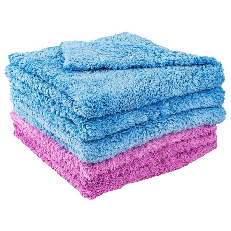 Professional 80/20 Blend 450 GSM Super Plush Edgeless Microfiber Auto Detailing Towels Car Drying Wash Buffing Polishing Towel