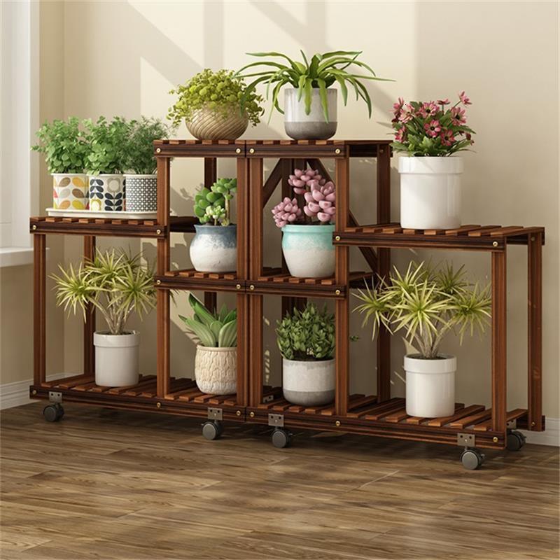 Pot Stand Jardin Estanteria Escalera Repisa Para Plantas Plantenstandaard Stojak Na Kwiaty Dekoration Flower Rack Plant Shelf