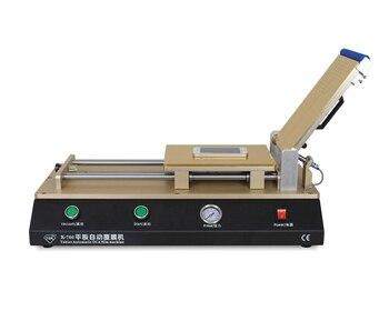 """Máquina laminadora de TBK-766 OCA automática para tabletas de 12 """", máquina laminadora de película polarizadora OCA para reparación de LCD, necesita compresor de aire"""