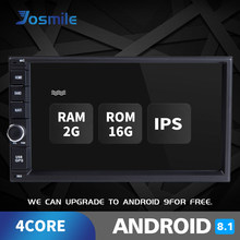 Auto Radio 2 DIN Android 8.1 Car Multimedia untuk Nissan Note Qashqai Xtrail Ini dengan Juke Almera Head Unit Tape Perekam Gps Navigasi 2GB(China)