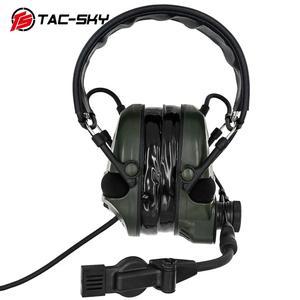 Image 4 - TAC SKY TCI LIBERATOR 1, orejeras de silicona, defensa auditiva militar, reducción de ruido, pastillas para deportes al aire libre, auriculares tácticos FG