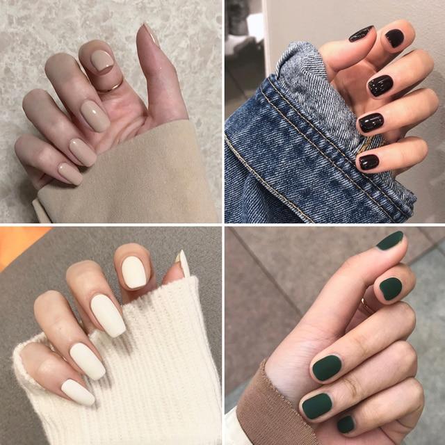 7ml Colorful Gel Varnish UV Vernis Semi Permanent Soak Off Nail Painting Polish Lacquer DIY Nail Art Design Manicure Tool BE1571 5