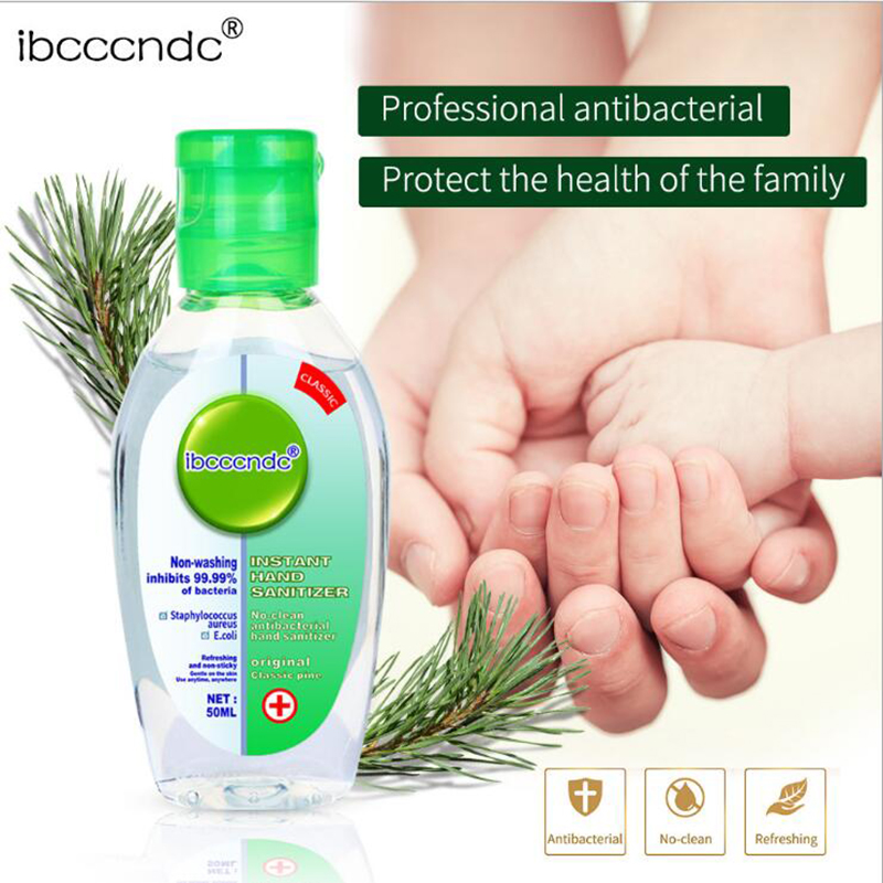 50ml Hand Sanitizer Gel 75% Disposable Disinfectant Bacteriostatic Gel Hand Sopa Wipe Out Bacteria Portable Antibacterial