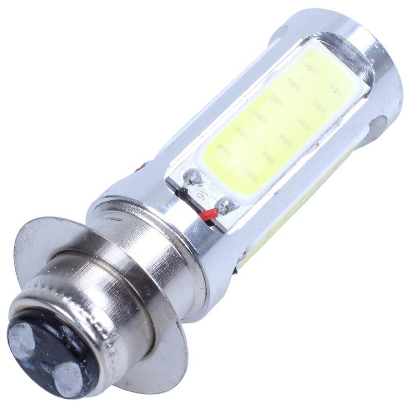 H6M PX15d COB 51 LED White Turn Signal Indicator Light Lamp Bulb 25W DC 12V