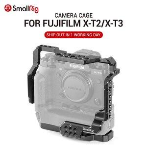 Image 1 - SmallRig DSLR Cage Fotocamera per Fujifilm X T3/per Fujifilm X T2 Fotocamera con Presa Della Batteria di Trasporto libero 2229