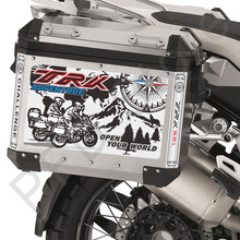 TRK 251 Motorcycle Sticker Decal Tail Top Side Box Cases Panniers Luggage Aluminium For Benelli TRK251 TRK 251 ADV Adventure