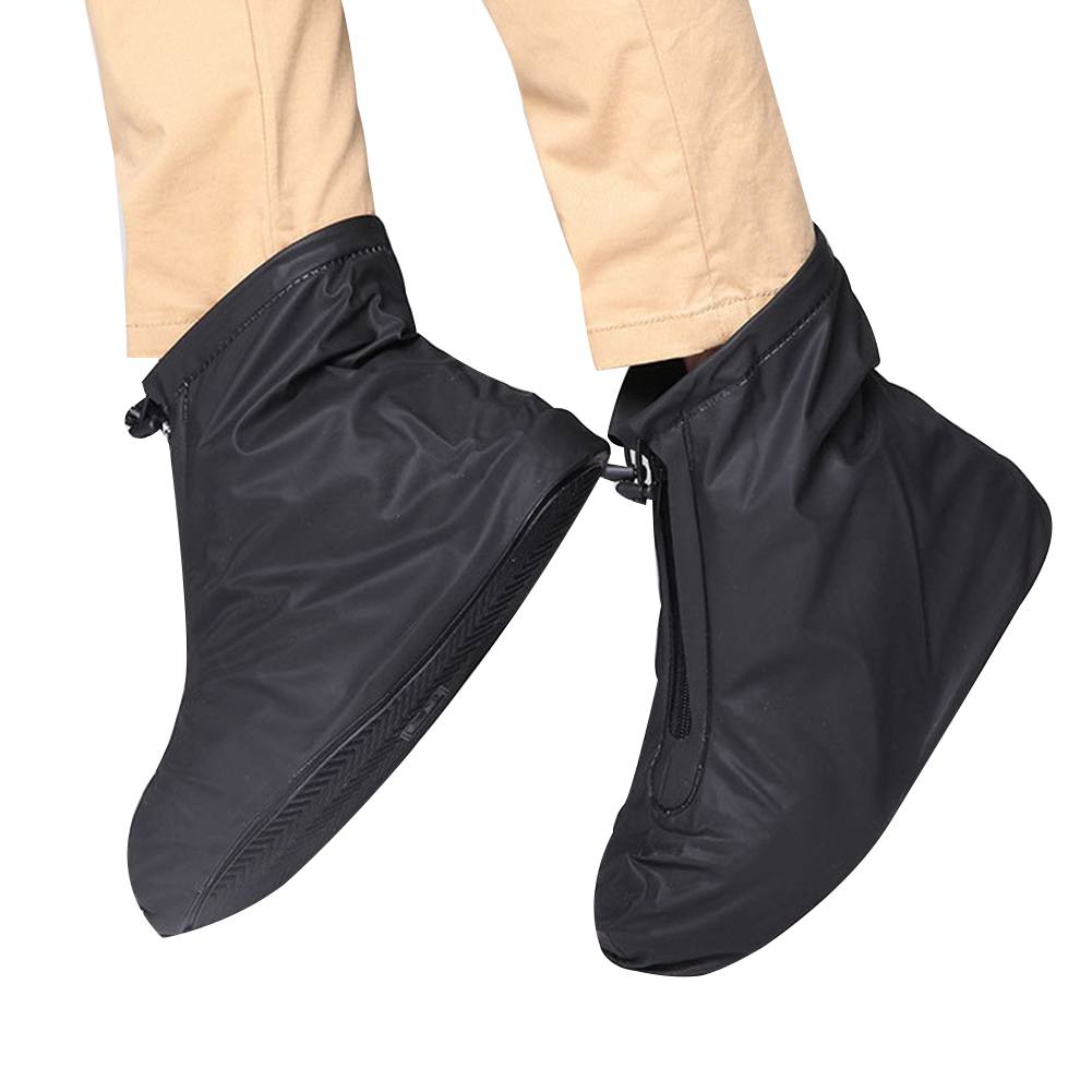 Men Women Travel Reusable Shoe Cover Waterproof Elastic Accessories Foot Wear Outdoor Protectors Thickening Rain Boots Non Slip