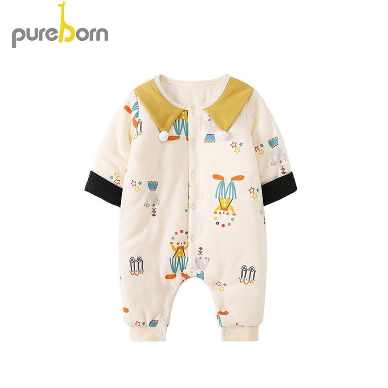 Newborn Baby Boys Bodysuit Short-Sleeve Onesie Free Hugs Print Jumpsuit Spring Pajamas