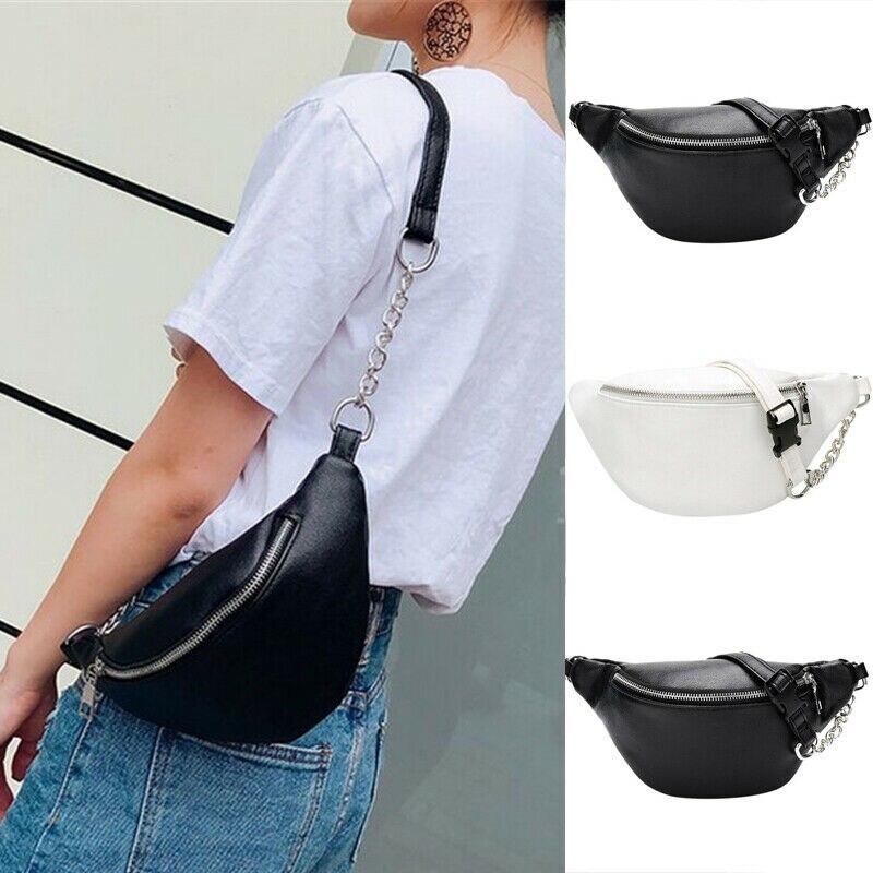 Fashion Women Waist Fanny Pack Belt Bag Pouch Travel Hip Bum Bag Small Purse