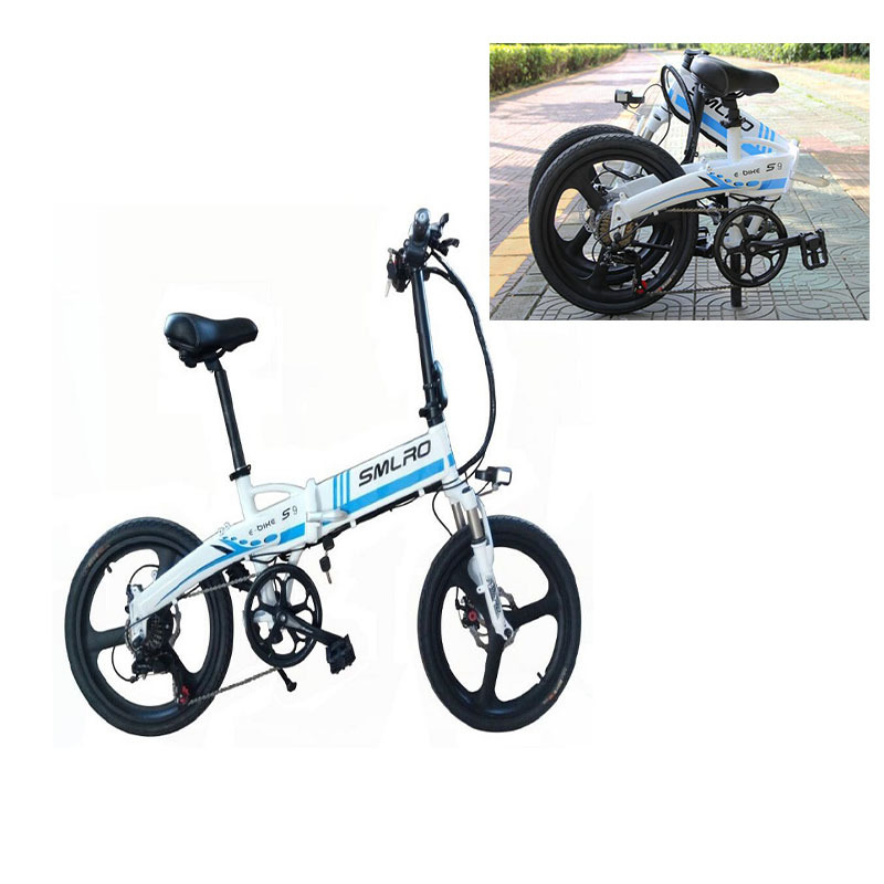 s9 ON SALE September Big sale City Bike Aluminum alloy 6061 Foldable Frame 20 inch electric bicycle 6