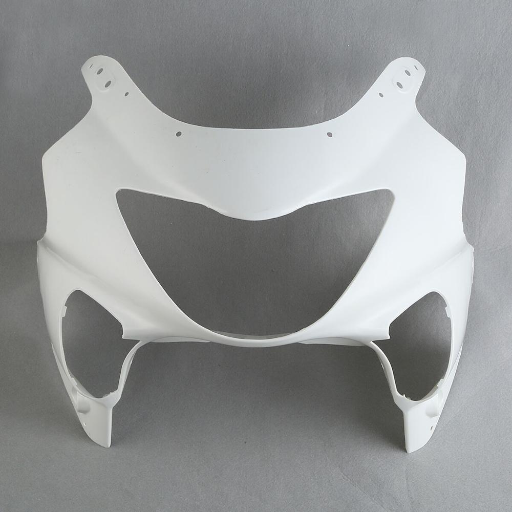 Carénage de nez de capot avant blanc non peint en ABS pour Honda CBR600 F4 CBR 600 1999 2000