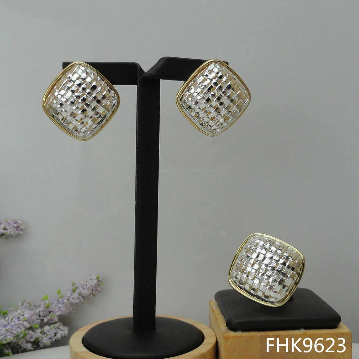 Yuminglai e Orecchini e Anelli Set di Russia Gioielli Artificiale Set di Gioielli FHK9622