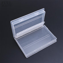 Full Beauty 20 Slots Storage Box For Nail Drill Bit Files Holder Container Case Display Organizer Acrylic Manicure Tool CHA35-1(China)