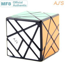 MF8 Aj's Duo Axis Magic Cube AJ Skewbed/Skewed Professional Speed Puzzle Twisty Antistress Fidget Educational Toys For Children mf8