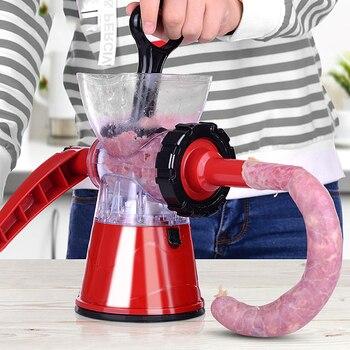 Household Meat Grinder Enema Stuffer Meat Cutter Processor Blender Sausage Shredded Vegetable Paprika Complementary Food Machine 3