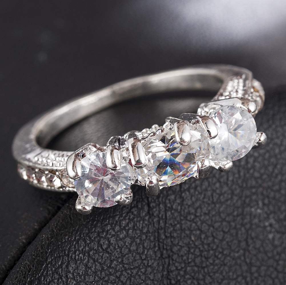 2020 NEW Crystal Ring Female Anelli Bijoux Anillos Wedding Engagement Rings For Women Anel Jewelry 1