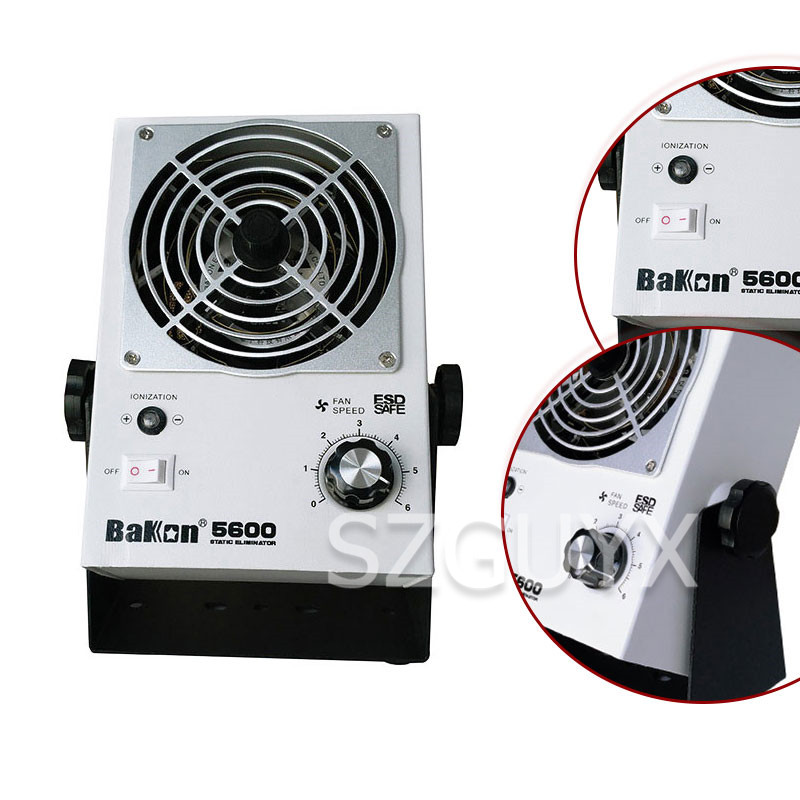 Small household static elimination machine In addition to static ion fan AC ion fan Desktop portable ion fan