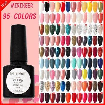 Gel Nail Polish UV LED Art Mirineer All For Manicure Semi Permanent Varnish Soak Off Matte Base Top Coat Shiny Color 1