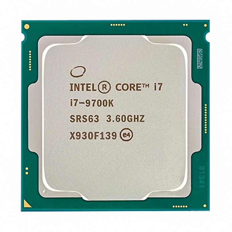 Intel Core I7-9700K I7 9700K 8 Cores 8 Draden Tot 3.6 Ghz 300 Serie 95W Desktop Processor