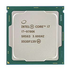 Intel Core i7-9700K i7 9700K 8 Cores 8 threads up to 3.6 GHz 300 Series 95W Desktop Processor
