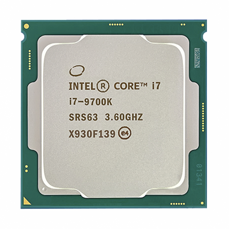 Intel Core i7-9700K i7 9700K 8 Kerne 8 threads bis zu 3,6 GHz 300 Serie 95W Desktop Prozessor
