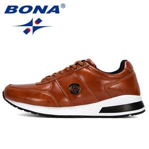 Image 4 - BONA 2020 새로운 디자이너 인기있는 남성 캐주얼 신발 경량 로퍼 신발 남자 야외 레저 신발 Zapatillas Para Hombre