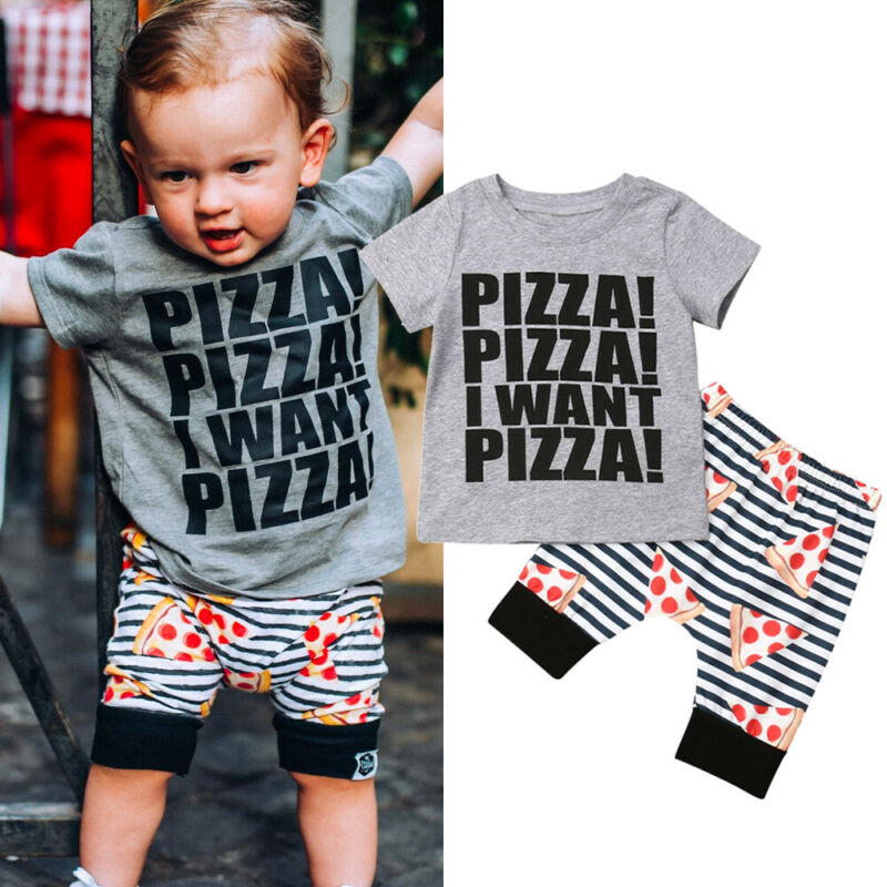 Summer Newest Fashion Newborn Baby Boy Clothes Cotton Letters Tops T Shirt Camouflage Pants 2Pcs Outfits Summer Clothes in Clothing Sets from Mother Kids