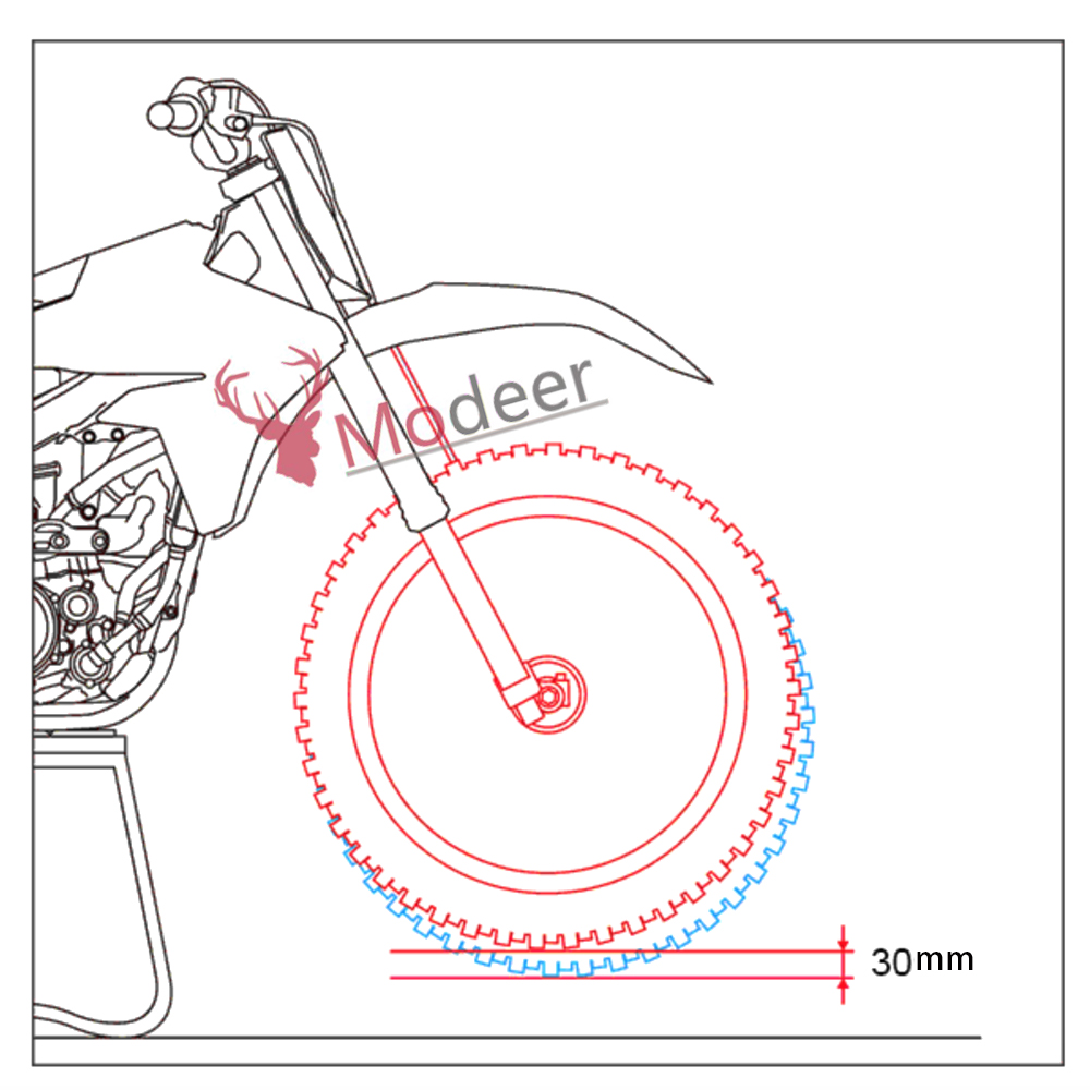 garfo dianteiro da motocicleta baixando kit interior 02