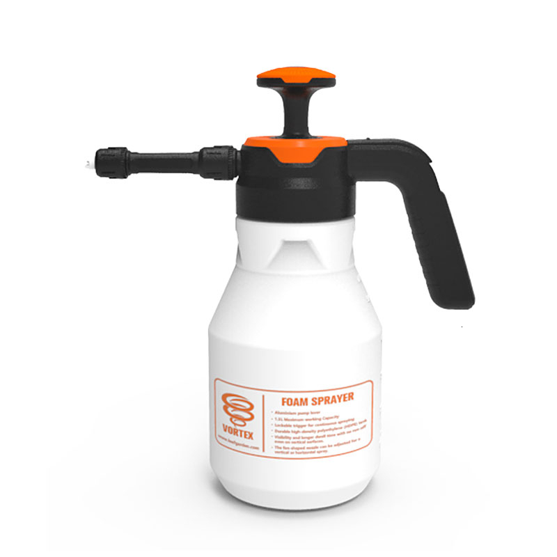 2L Plastic Foam Watering Can Pressure Type Small-scale Sprayer Car Cleaning High Pressure Watering Can Window Cleaning Tool-4