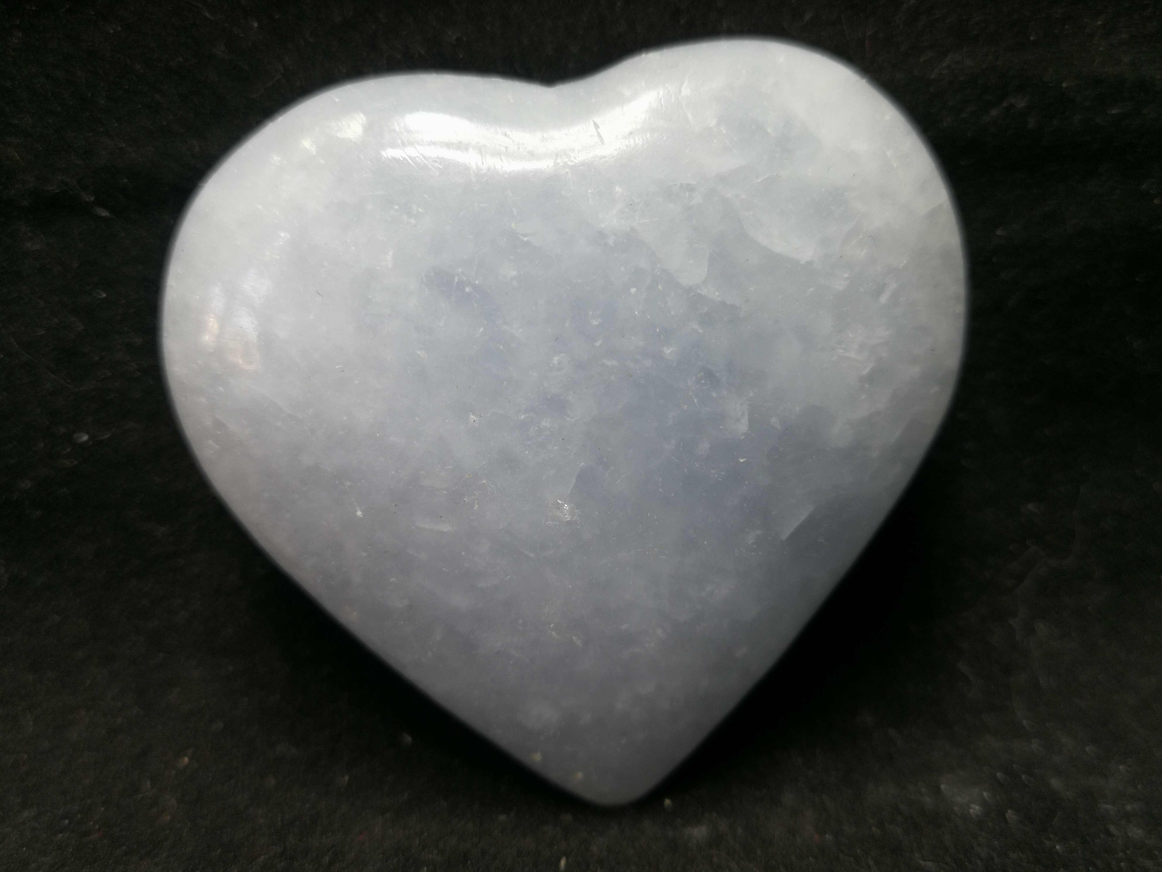 49.1 Gnatural Biru Kristal Amplas Jantung, Kristal Kuarsa Energi Penyembuhan-12