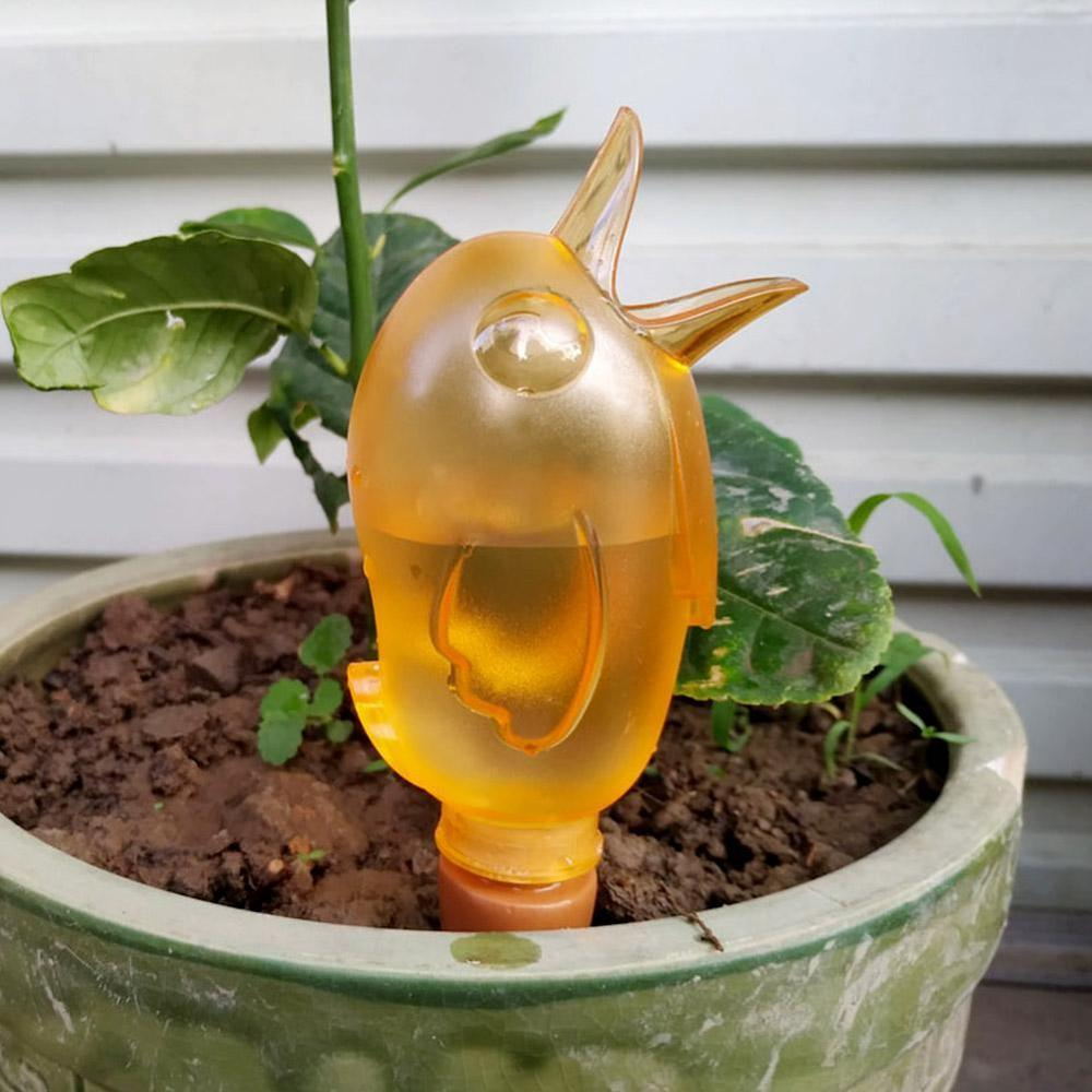 1 Pcs Cute Bird Shape Automatic Watering Auto Drip Irrigation Watering System Outdoor Self-watering For Plants Flower