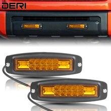 7 pouces LED barre de lumière de travail encastré lumière de conduite ambre 20W Combo faisceau Led antibrouillard pour Niva lada 4x4 offroad ATV 12V 24V