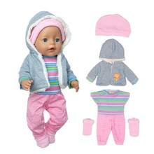 Socks Doll-Clothes Baby-Suit Festival Born 17inch Fit for Birthday Gift 43cm