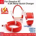 Original Oneplus 8T Warp Ladung Typ-c Zu Typ-C Kabel 10V 6,5 EINE PD Ladegerät kabel Für Oneplus 1 + 8 8T 7 7T Pro 6 6T 5 5T Nord N10
