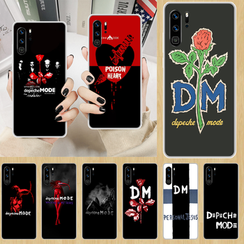 Depeches band Mode rock Phone Case hull For HUAWEI p 8 9 10 20 30 40 smart Lite 2017 19 Pro Z transparent funda 3D hoesjes image