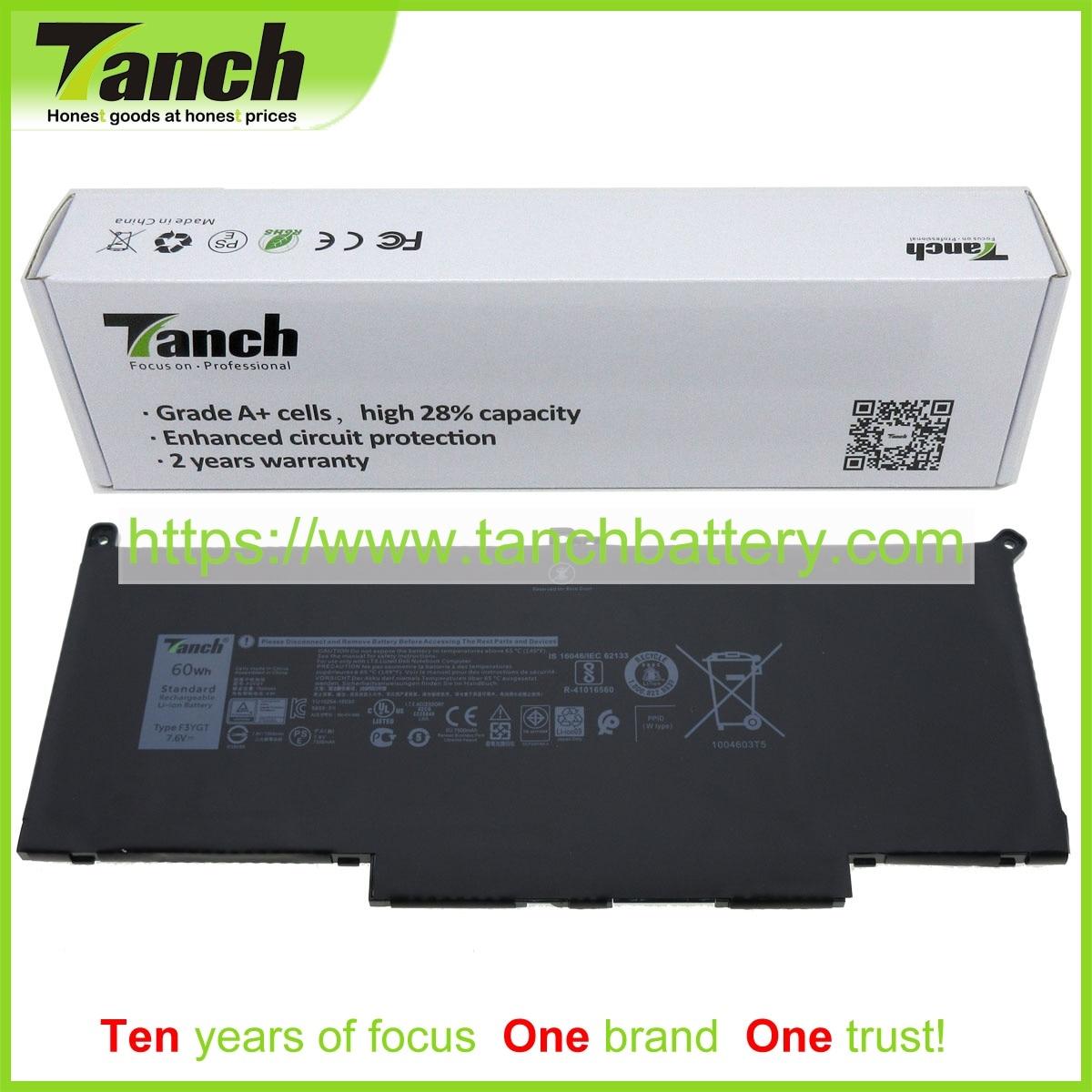 Tanch Laptop Battery for DELL F3YGT MYJ96 DM3WC 2ICP5/57/80 2 H2V87 451 BBYE N015L7480 D1606CN N006L7390 D1506FCN,7.6V 4cell