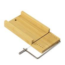 Ręczne urządzenie do cięcia mydła profesjonalne narzędzie do cięcia mydła wysokiej jakości pulpit do cięcia mydła wielofunkcyjne narzędzie do krojenia mydła narzędzia gospodarstwa domowego tanie tanio Manual Soap Cutter Bamboo
