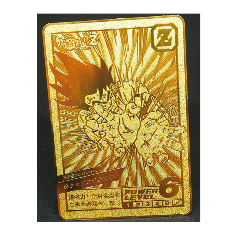 Super Saiyan Dragon Ball Z Commemorate Metal Card Heroes Battle Card Ultra Instinct Goku Vegeta Game Collection Cards