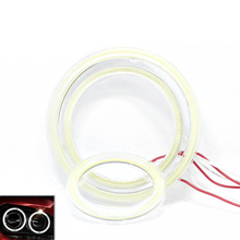 Bulb Fog-Light-Lamps Halo-Ring Led-Angel-Eyes with for Car White 60mm 80mm Hot-Sale COB