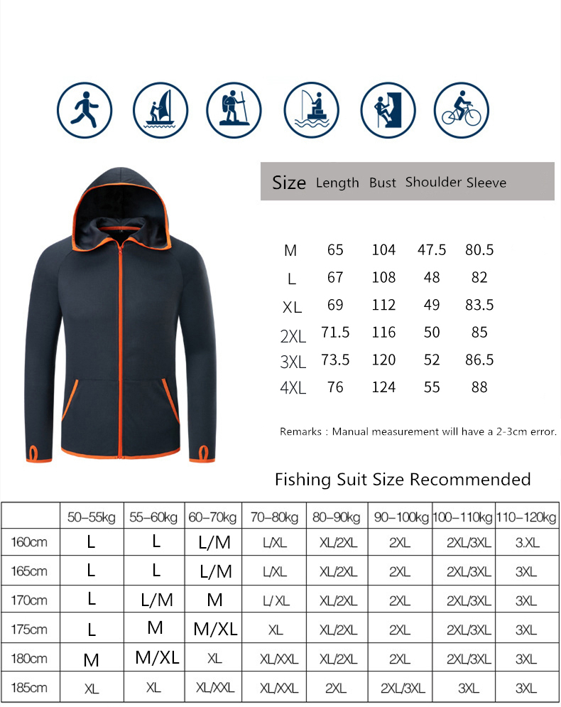 Haaa0d840e5624307b52ed9f8a33c7c58F Refire Gear Summer Waterproof Hoodie Jacket Men Quick Dry Lightweight Skin Coat Casual Thin Breathable Ice Silk Outwear Clothes