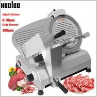 Xeoleo comercial slicer de carne elétrica skiving máquina de corte de carne congelada semiautomática cortador de rolo de carneiro 12 polegada
