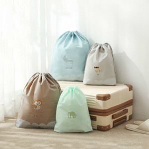 Дорожная упаковочная сумка с мультяшным рисунком, сумка-Органайзер, портативный чехол для хранения, водонепроницаемая косметичка, набор дл...