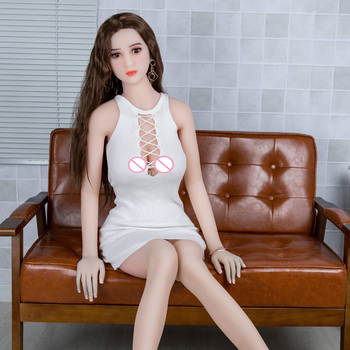 158cm Silicone Sex Doll Realistic Full-Size TPE Metal Skeleton Silicone Big Chest and Ass for Male Masturbator Premium Sex Doll