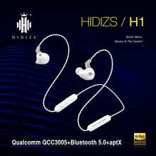 Hidizs contrata 5.0 fones de ouvido bluetooth h1 esportes neckband fone de ouvido sem fio APT-X APT-XLL sbaac sbsbc com microfone para telefones inteligentes/pc